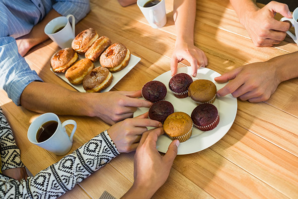 27% of staff would stay in job for 'tasty treats'