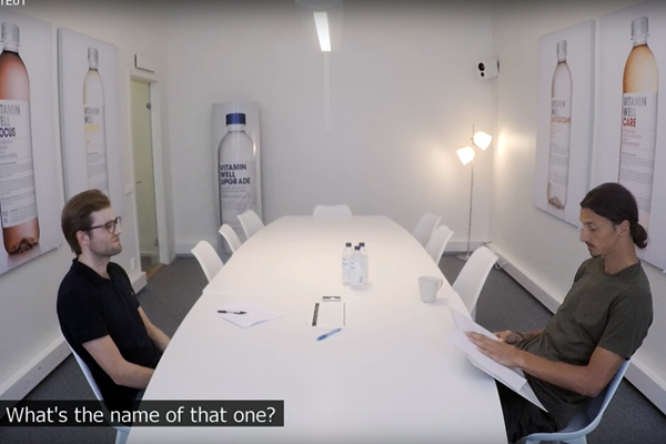 World famous footballer conducts worst job interview ever