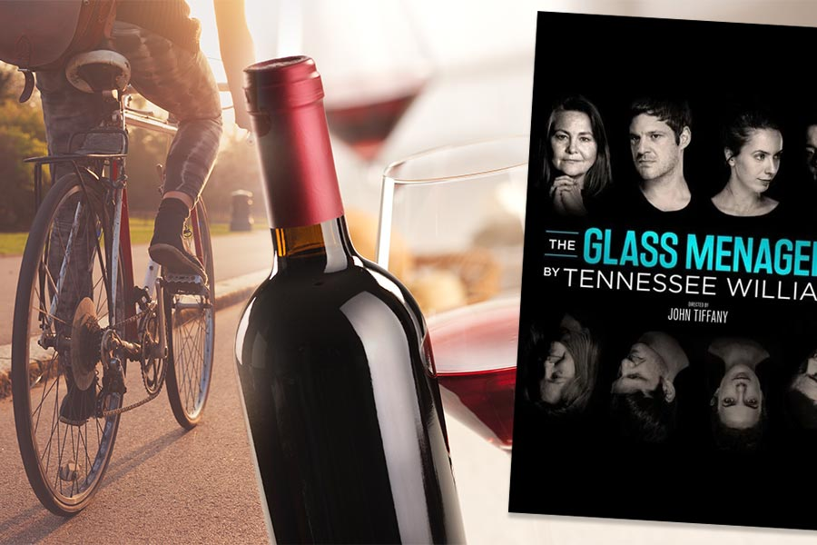 HR on the weekend: National Drink Wine day, The Glass Menagerie and Love against hate bike ride