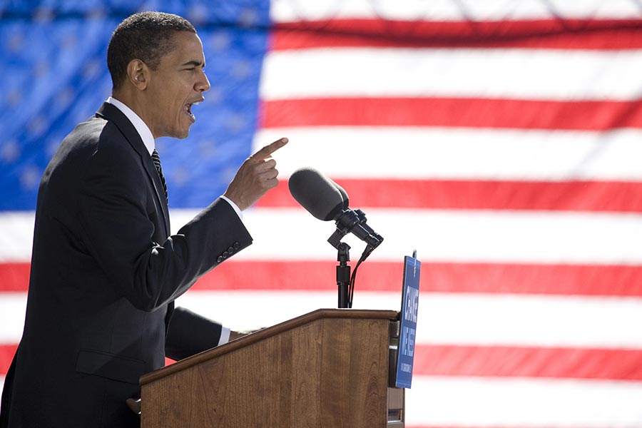 What leadership lessons did Obama share in his final press conference?