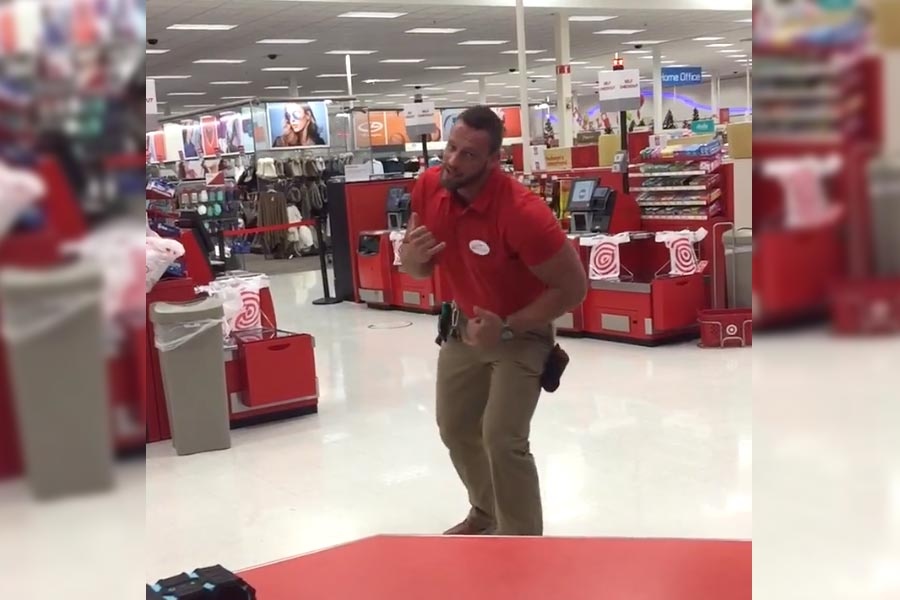 Dancing manager goes viral: 'That's just my kind of leadership style'