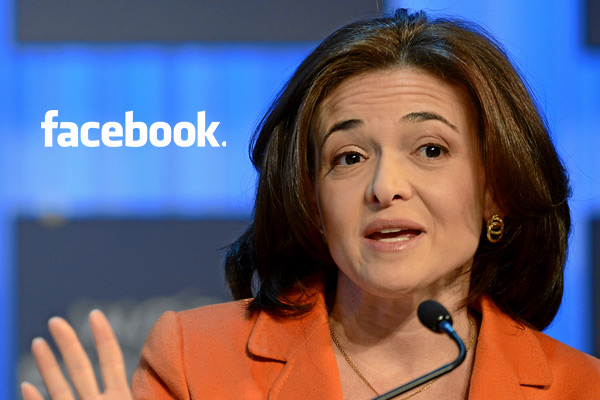 Facebook COO: 'Men still run the world - and it's not going very well'