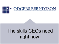 Odgers Berndtson: The skills CEOs need right now