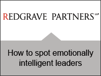 Redgrave Partners: How to spot emotionally intelligent leaders