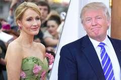 Political Punch-up: Donald Trump vs JK Rowling