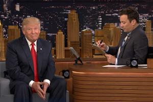 Jimmy Fallon conducts 2nd 'job interview' with Donald Trump