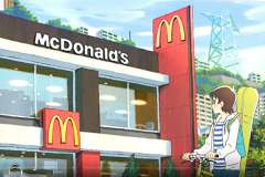 McDonald's debuts Japanese anime recruitment drive