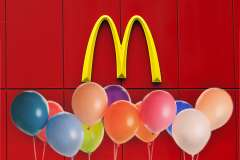 McDonald's throws retirement party for long-serving worker with learning disability