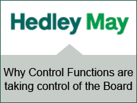 Why Control Functions are taking control of the Board