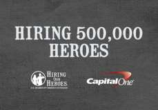 """500,000 veterans and military spouses hired through """"Hiring Our Heroes"""" campaign"""