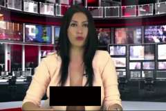 Newsreader lands job after near-nude screen test