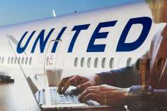 United Airlines CEO defends worker who dragged customer off flight