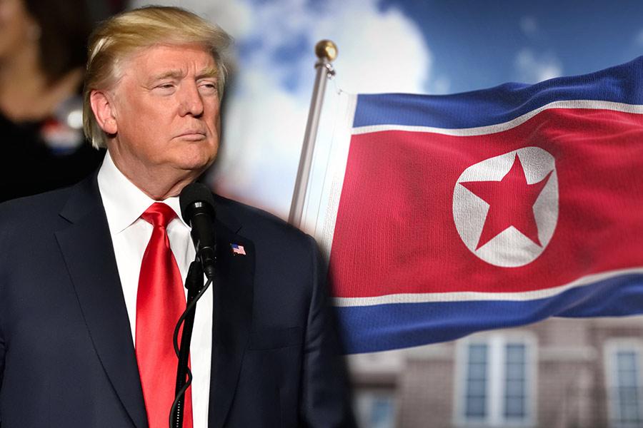 Political Punch-up: Donald Trump vs Kim Jong-un