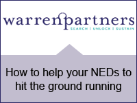 Warren Partners: How to help your NEDs to hit the ground running